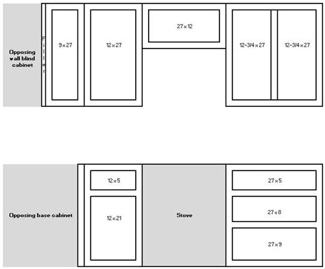 standard kitchen cabinet door sizes measuring for your new cabinet doors cabinet joint 8318