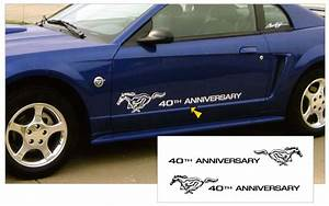 2004 Mustang 40th Anniversary Pony Decal Set