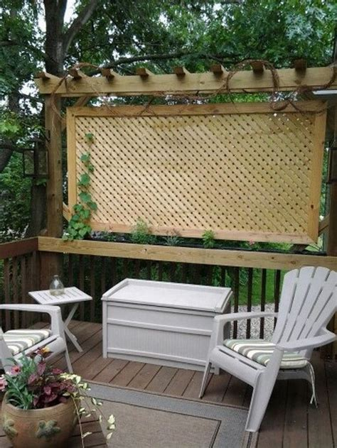 25 best ideas about deck privacy screens on