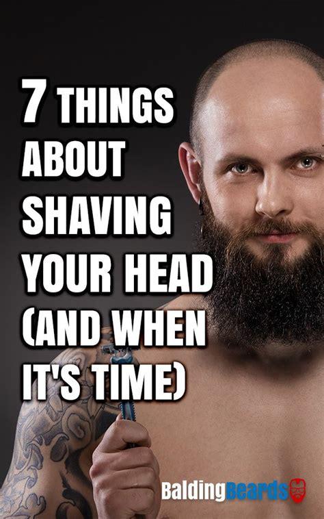 shaving  head    time