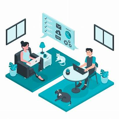Remote Telecommuting Stay Challenges