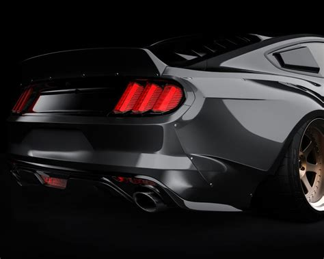ford mustang  ducktail spoiler fits