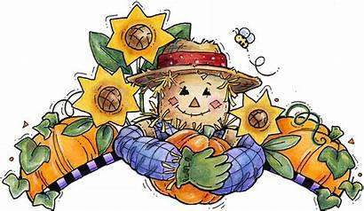 Scarecrow Fall Clipart Clip Halloween Contest Thanksgiving