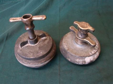 antique brass patented drain testing bung stop plugs