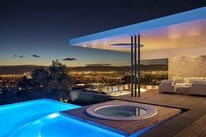 Concrete And Glass House: Modern City Villa by ARRCC