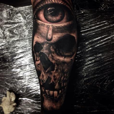 hyper realistic skull tattoos  drew apicture