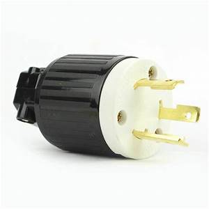 Twist Lock Electrical Plug 3 Wire  30 Amps  125v  Nema L5