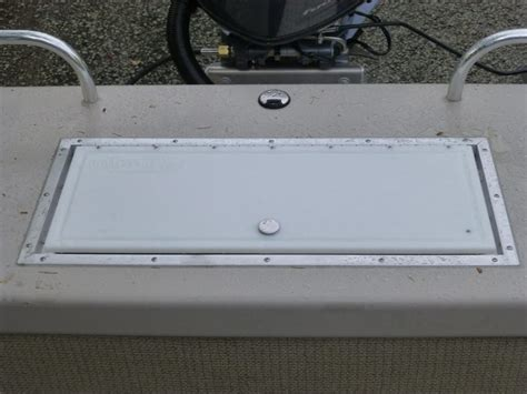 Aluminum Boat Hatch Lids by Custom Cutting Boards Who Dat Towers