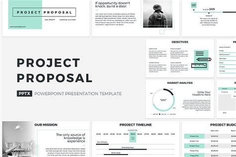 project proposal powerpoint template  creativeslides
