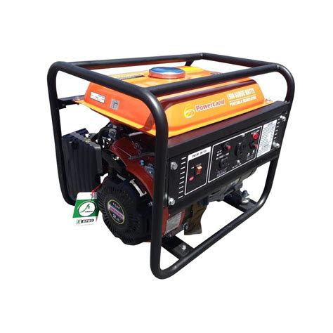 electrical watt powerland portable 1 500 watt gas electric generator pd2000 the home depot