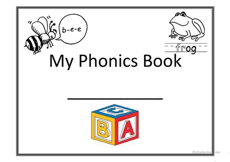 my phonics book worksheet free esl printable worksheets