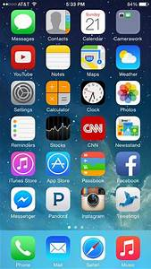 Pics For > Iphone 6 Home Screen Layout