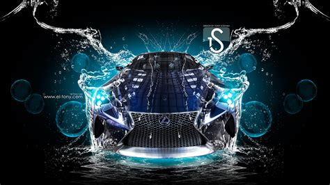 lexus lf lc water car  el tony