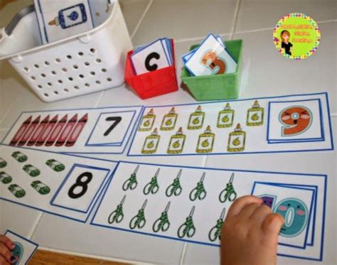 hands on learning activities for preschoolers back to school math centers printables posters 188