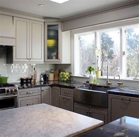 greige maple kitchen cabinates  pictures