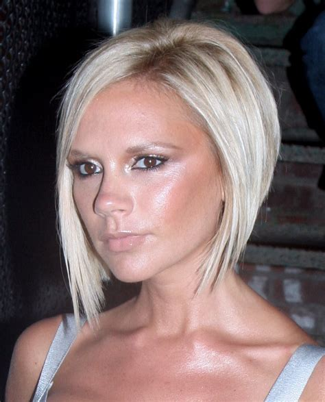 new haircuts and hairstyles victoria beckham short blonde