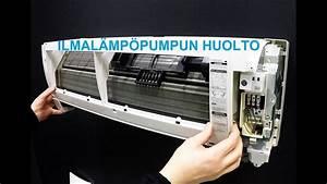 Ilmal U00e4mp U00f6pumpun Huolto Mitsubishi Electric Msz Fh 35