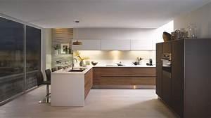 Cuisine équipée En Bois : cuisine quip e scandinave en l e label bois marron ~ Edinachiropracticcenter.com Idées de Décoration