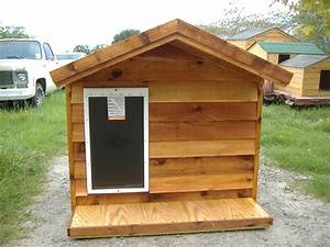 Extra large ac dog house custom ac heated insulated dog for Insulated dog houses for large dogs