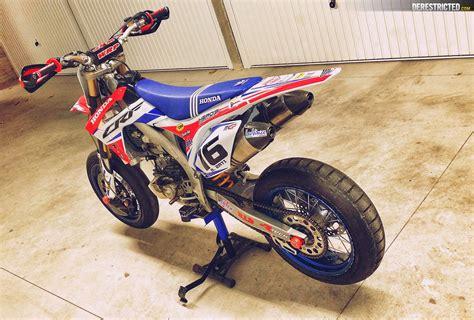 Honda Crf450 Supermoto  Supermoto Bikes  バイク, オフロード Und