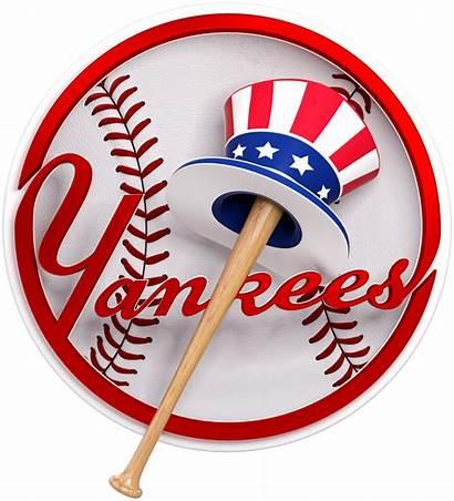 Yankees Yankee York Baseball Logos Classic Clipart