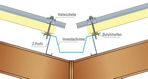 trapezblech dach montage isolierpaneele montieren montageanleitung