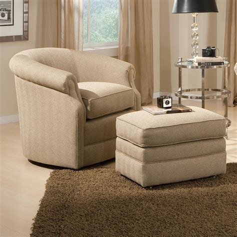 upholstered chair with ottoman living room chairs and ottomans peenmedia com