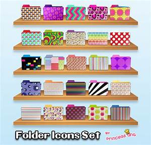 25 Folder Icons by princessang2644 on DeviantArt