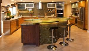 curved kitchen island curved kitchen island with counter stools home decorating trends homedit