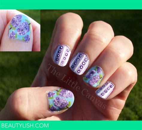 lilac nail art   canvas  thelittlecanvas