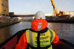 Safety Boat Hire Prices by Safety Boat Services Work Boats Work Barge Inspection Boat