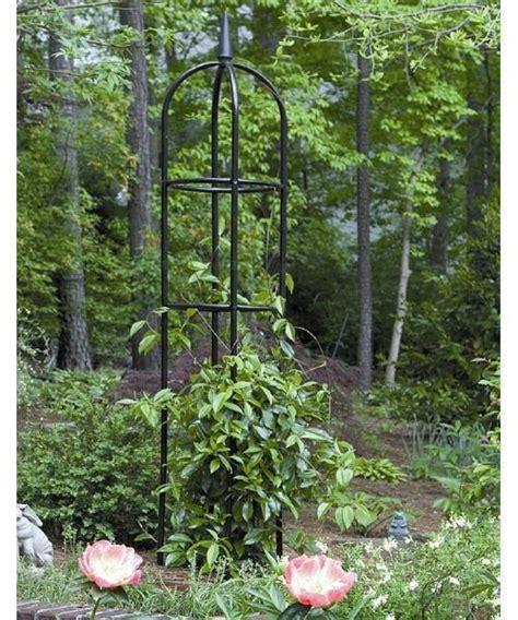 Garden Trellis Metal Climbing Plants Flower Obelisk Vines