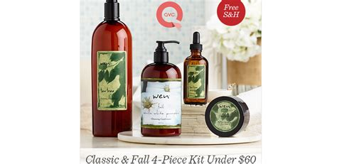 Four-piece Wen Haircare Kit For .94 + Free Shipping