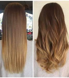 Balayage Cheveux Bouclés : cheveux boucl s quel lissage de cheveux est fait pour ~ Dallasstarsshop.com Idées de Décoration