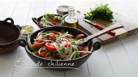 recette cuisine chilienne salade chilienne cuisine futée parents pressés