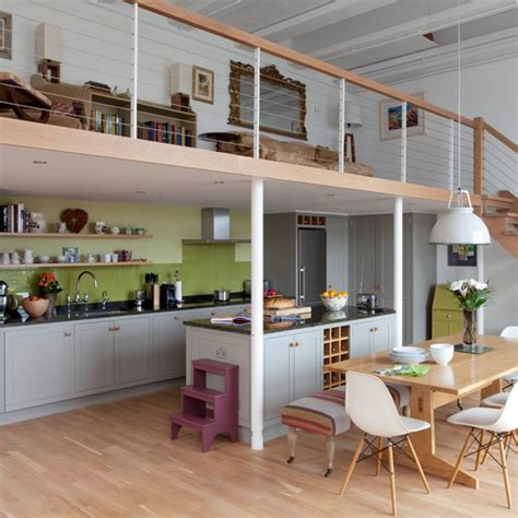 Decorating Ideas Kitchen Diner by Open Plan Wood Kitchen Diner Kitchen Decorating