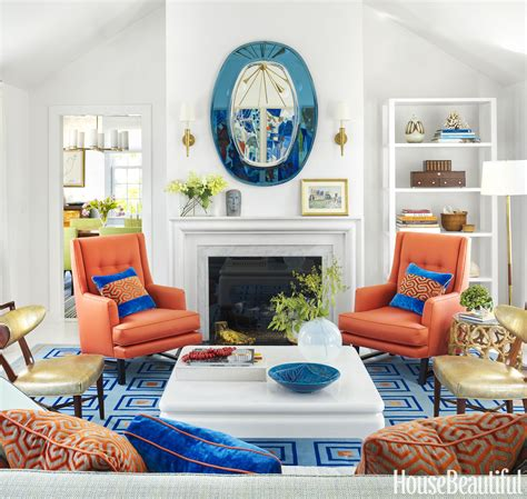 Inside A Home Thats Not Afraid Of Bold Color White