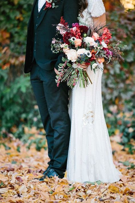 Fall Wedding Ideas With Luxe Rustic Style Modwedding