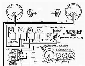 Simple Headlight Wiring Diagram