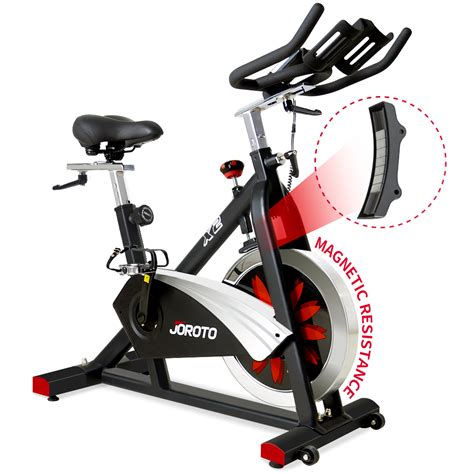 JOROTO X2 Belt Drive Indoor Cycling Bike with Magnetic ...