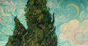 James Design Impacted Impasto Evidence Of The Quot Role Up Quot By Van Gogh