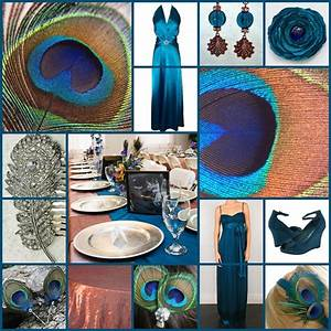 Keen to be seen peacock wedding theme with copper and for Teal wedding theme ideas