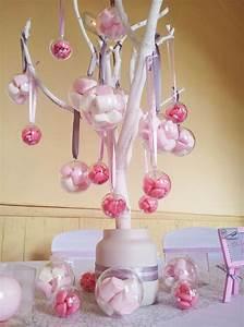 Decoration Pour Bapteme Fille : deco mariage bonbon jy69 jornalagora ~ Mglfilm.com Idées de Décoration