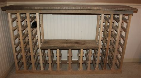 build a rack using pallets to build a farm and a