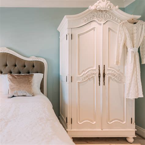Furniture Armoire Wardrobe by White Carved Armoire Wardrobe Furniture