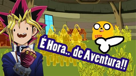 Youtube Poop Br É Hora De Aventura Card Game Infantil Transforma Jake Em Avassalador