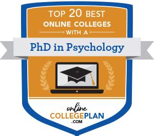 top   colleges    phd  psychology