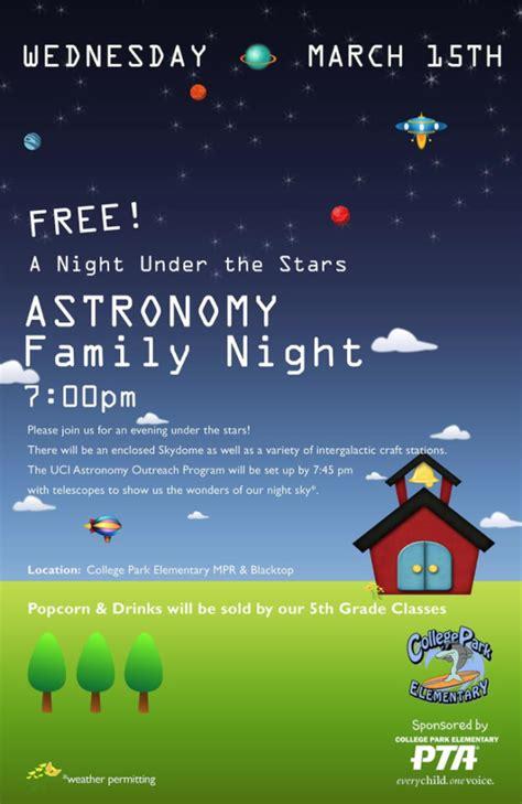 join night stars college park elementary pta