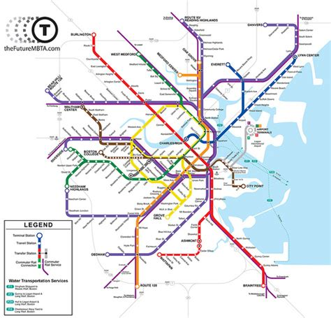 map of boston t subway software free download