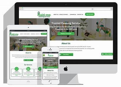 Maid Slider Websites Turnkey Affordable Professional Visit